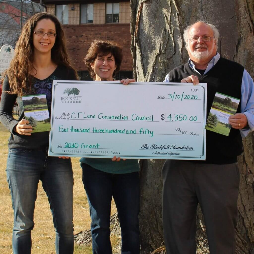CLCC receives check from the Foundation