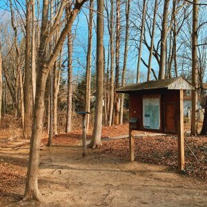 Canfield-Meadow Woods Route 154 Trailhead